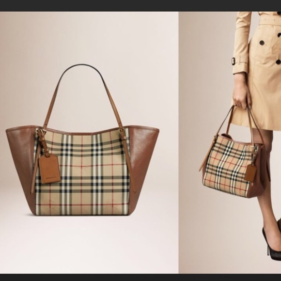 cf397a552285 Burberry Handbags - Burberry Horseferry Canterbury brown tote